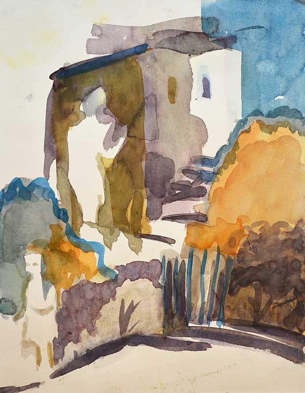 Das Bild zeigt ein Gemälde der Kunstmalerin Barbara Storti in Liestal